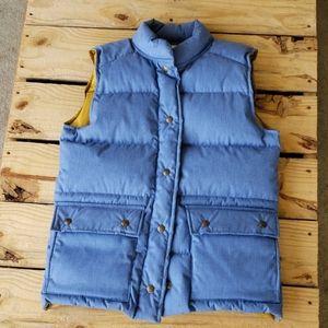 VTG Eddie Bauer Thick Goose Down Puffer Vest